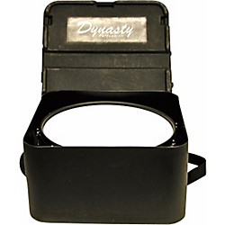 DEG Dynasty Marching Snare drum case, square, black molded for concert or Wedge snare (P30-MPC14S)