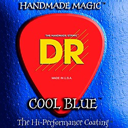 DR Strings COOL BLUE COATED ELECTRIC STRINGS LITE (9-42) (CBE-9)