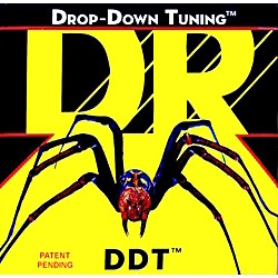 DR Strings DDT-10 Drop Down Tuning Medium Electric Guitar Strings 3-Pack (DDT-10 3PK)