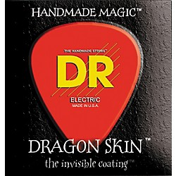 DR Strings DSB5-45 Dragon Skin Coated Medium 5-String Bass Strings (DSB5-45)