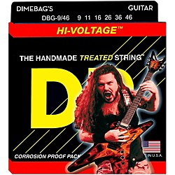DR Strings Dimebag Darrell Hi-Voltage Electric Guitar Strings Med Lite (DBG-9/46)