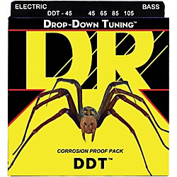 DR Strings Drop-Down Tuning Medium Bass Strings (DDT-45)