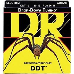 DR Strings Drop-Down Tuning Medium Guitar Strings (DDT-10)
