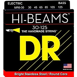 DR Strings Hi-Beam 6 String Bass Medium .125 Low B (MR6-30)