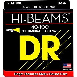 DR Strings Hi-Beams Lite 4-String Bass Strings (LR-40)