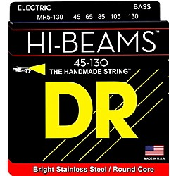 DR Strings Hi Beams Medium 5-String Bass .130 Low B String (Mr5-130)