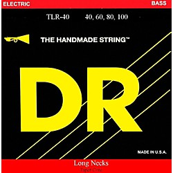 DR Strings Long Necks Taper Core Light 4-String Bass Strings (TLR-40)