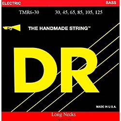 DR Strings Long Necks Taper Core Medium 6-String Bass Strings (TMR6-30)