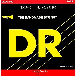 DR Strings Long Necks Taper Core Medium Light 4-String Bass Strings (TMLH-45)