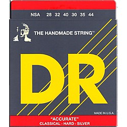 DR Strings Nylon Classic Accurate Hard Tension Acoustic Guitar Strings (NSA)