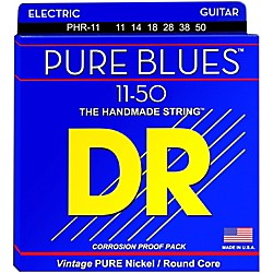 DR Strings PHR11 Pure Blues Nickel Heavy Electric Guitar Strings (PHR-11)