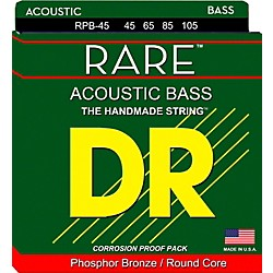 DR Strings Rare Phosphor Bronze Acoustic Bass Strings (RPB-45)