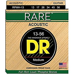 DR Strings Rare Phosphor Bronze Medium Heavy Acoustic Guitar Strings (RPMH-13)
