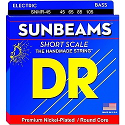 DR Strings Sunbeams SNMR-45 Medium Short Scale 4 String Bass Strings (SNMR-45)