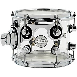DW Design Series Acrylic Tom with Chrome Hardware (DDAC0708STCL)