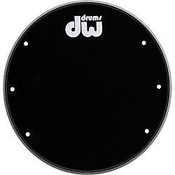 DW Front Ported Bass Drumhead with Logo (DRDHGB20K)