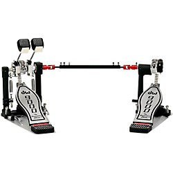 DW Lefty Double Bass Drum Pedal with Bag (DWCP9002PBL)