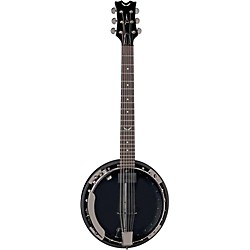 Dean Backwoods 6 Banjo w/Pickup - Black Chrome (BW6E BC)