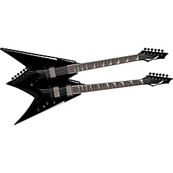 Dean Dave Mustaine VMNT Double Neck Electric Guitar (USED004000 VMNT DBL CBK)
