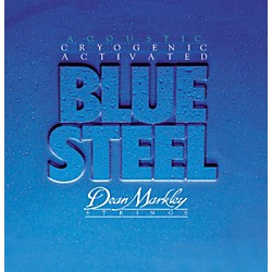 Dean Markley 2036 Blue Steel Cryogenic Medium Light Acoustic Guitar Strings (2036)
