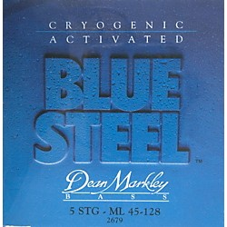 Dean Markley 2679 Blue Steel Medium/Long 5-String Bass Strings (2679)
