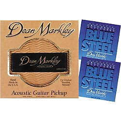 Dean Markley Pro Mag Grand Acoustic Guitar Pickup Bundle (3015A-2036)