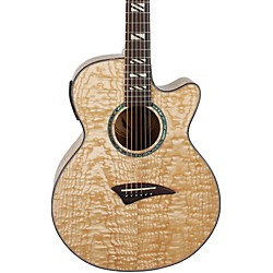 Dean Performer Quilt Ash Acoustic-Electric Guitar with Aphex (USED004000 pe qa gn)