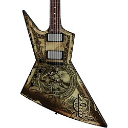 Dean Zero Dave Mustaine In Deth We Trust Left-Handed Electric Guitar (ZERO TRUST L)