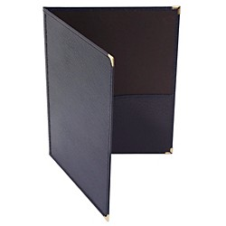 Deer River Choral Leatherette Folio With Bottom Pockets (#27-3)