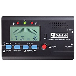 DeltaLab CTM-40 Tuner and Metronome (CTM-40)