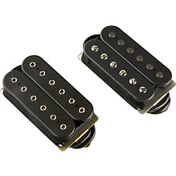 DiMarzio Classic Rock Humbucker Pre-Wired Pickup Set - Long Shaft Pots (GG2101A2BK)