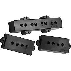 DiMarzio DP126 P+J Neck and Bridge Bass Pickup Set (DP126BK)