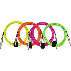 DiMarzio Neon Overbraid Instrument Cable (EP1710SSPK)