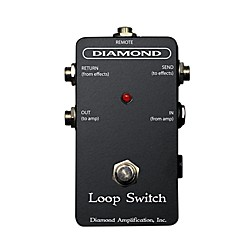 Diamond Amplification Loop Switch Footswitch (USED004000 Loop Switch)