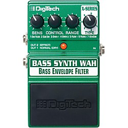 DigiTech XBW Bass Synth Wah Effects Pedal (USM-XBW)