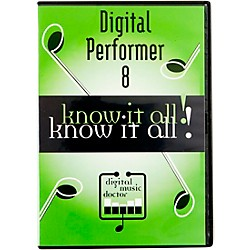 Digital Music Doctor Motu Digital Performer 8 Know It All! Video Tutorial (DMDMP811)