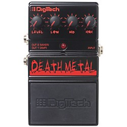 Digitech DDM Death Metal Distortion Guitar Effects Pedal (USM-DDM)