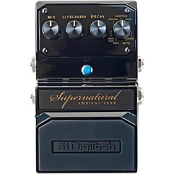 Digitech Hardwire Supernatural Ambient Stereo Reverb 7 Unique Settings (USED004000 USM-SUPERNATUR)