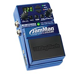 Digitech JMSXT JamMan Solo XT - Stompbox Looper with Stereo I/O and Sync (USM-JMSXT)