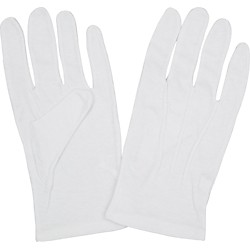 Director's Showcase Traditional Cotton Gloves (GLCOREPRWHLA)