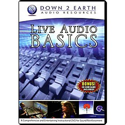 Down 2 Earth Live Audio Basics DVD (97-LAB001)