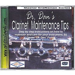 Dr. Dan's Clarinet Maintenance DVD (CLDVD)