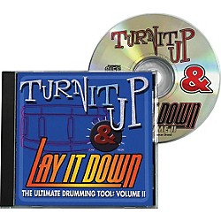 Drum Fun Inc Turn It Up and Lay It Down, Volume 2 - Play Along CD for Drummers (451091)