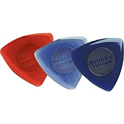 Dunlop 473R Triangle Stubby Guitar Picks (473R200)