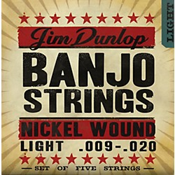 Dunlop 5-String Banjo Light Nickel String Set (DJN0920)
