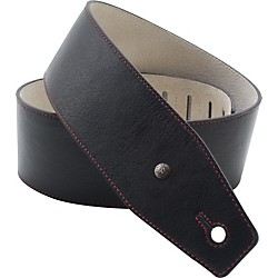 Dunlop BMF Leather Strap - Red Line (BMF03BK)