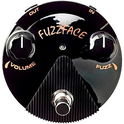 Dunlop Bonamassa Fuzz Face Mini Guitar Effects Pedal (FFM4)