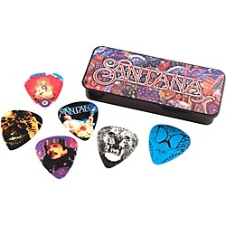 Dunlop Carlos Santana Pick Tin With 6 Picks (SANPT01M)