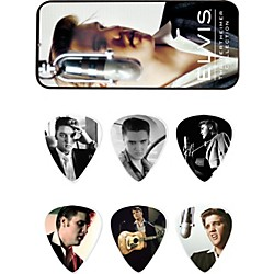 Dunlop Elvis Presley Wertheimer Collection Pick Tin with 6 Medium Picks (EPPT03)