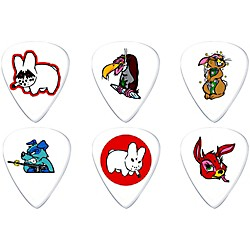 Dunlop Frank Kozik Design Guitar Picks 6 Pack (BL109P060)